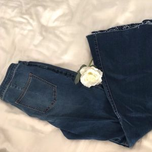 Free People High Rise Flair Jeans Size 28